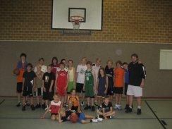 Basketballcamp mit Benny Tokmadic 2011